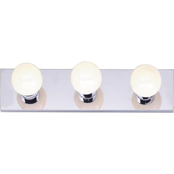 "Nuvo Lighting 77/192 3-Light 18"" Wide Vanity Strip - ADA Compliant - Polished chrome"