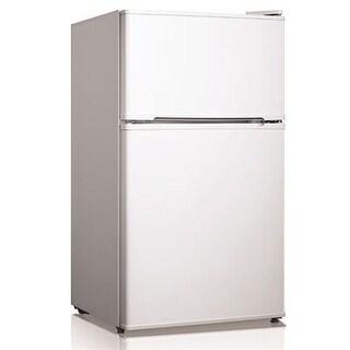 Midea - Whd-125Fw1 - 3.4Cf 2 Door Refrig White