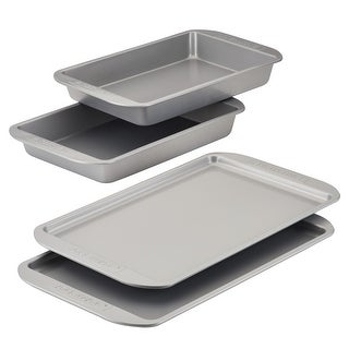 Link to Farberware Bakeware Double Batch Cookie Sheet & Cake Pan Set 3-Piece Similar Items in Bakeware
