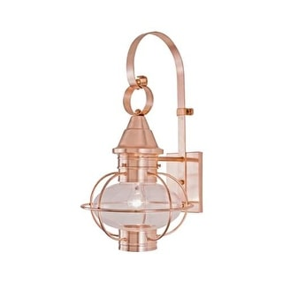 "Norwell Lighting 1613 Vidalia Onion Single Light 18"" Tall Outdoor Wall Sconce with Glass Shade"
