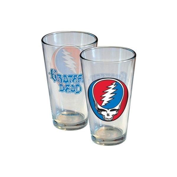 bd207d436fe Grateful Dead Stealie 16 oz Pint Glass