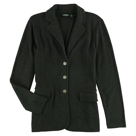 Ralph Lauren Womens Slim-Fit Jacket, grey, X-Large