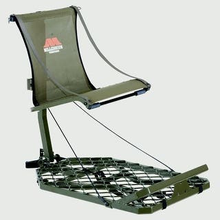 Millennium Alum Monster Hang-On Treestand 24X37In (19.5Lbs) - M-150-SL|https://ak1.ostkcdn.com/images/products/is/images/direct/5b209fed00c079285b329a59903a0352dcc0f681/Millennium-Alum-Monster-Hang-On-Treestand-24X37In-%2819.5Lbs%29---M-150-SL.jpg?impolicy=medium