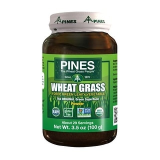 Organic 100% Wheat Grass Powder