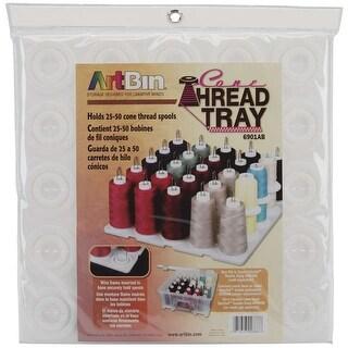 "ArtBin Super Satchel Thread Tray-12.5""X12.5""X6"" Translucent"