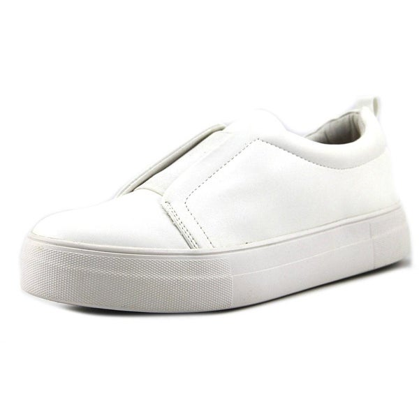 05fb5f5f44b Shop Steve Madden Goals White Sneakers Shoes - Free Shipping On ...