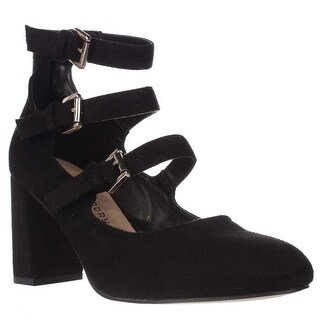 Chinese Laundry Dedra Strappy Mary Jane Pumps, Black