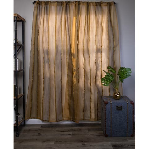Cottage Home Striped Curtain