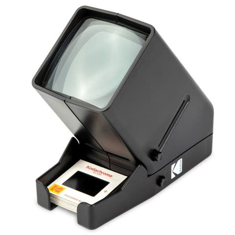 KODAK 35mm Slide and Film Viewer - Battery Operation, 3X Magnification, LED Lighted Viewing - for 35mm Slides & Film Negatives