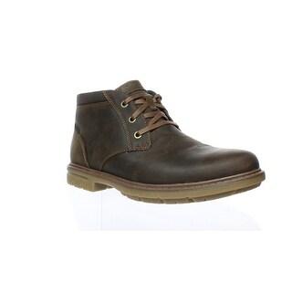 Rockport Mens Cg8387 Boston Tan Ankle Boots Size 8.5 (E, W)