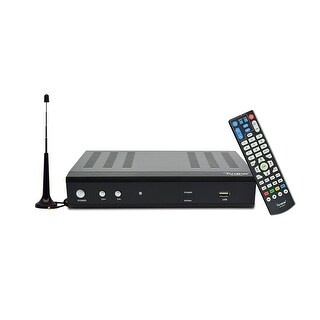 IVIEW-3500STBII-A Digital Converter Box w/Recording & Media Player - Free Antenna Included