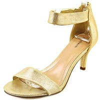 Style & Co Paycee Women Champagne Sandals