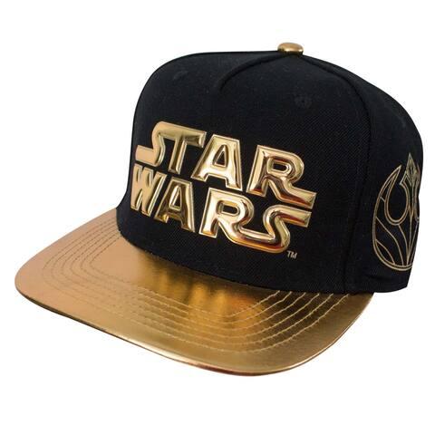 Official Star Wars Baseball Hat -3D Gold Logo