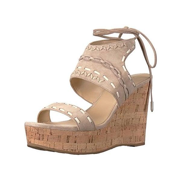Ivanka Trump Womens Zader Wedge Sandals Embroidered Casual - 10 medium (b,m)