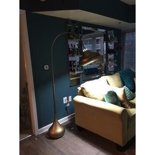 INK+IVY Arlo Gold Floor Lamp