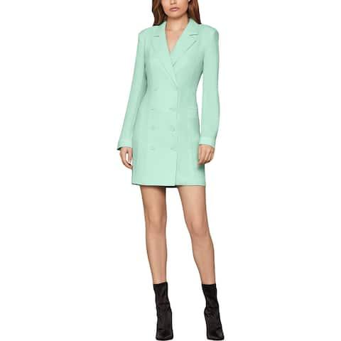 BCBGMAXAZRIA Womens Eve Blazer Sheath Jacket Dress