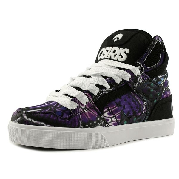 Osiris Clone Women Round Toe Canvas Multi Color Skate Shoe