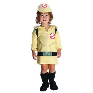 Ghostbusters Girl Costume Dress - Beige