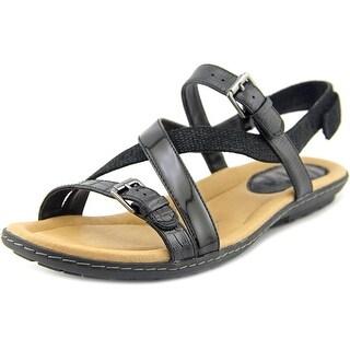 Earth Sandy Open Toe Leather Gladiator Sandal