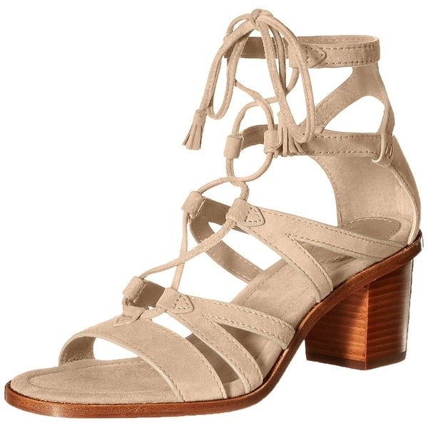 Frye Womens Brielle Suede Open Toe Casual Strappy Sandals