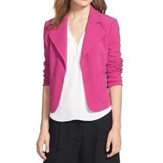 Chelsea 28 NEW Pink Women's Size Small S Open Front Blazer Jacket