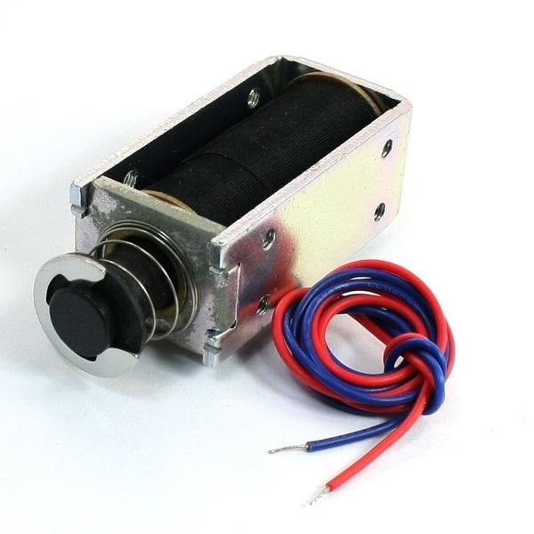 DC 24V 0 7lb Push Pull Intermittent Actuator Electromagnet Solenoid