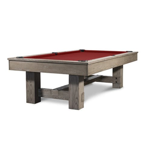 Rocky Slate Pool Table w/Premium Billiard Accessories