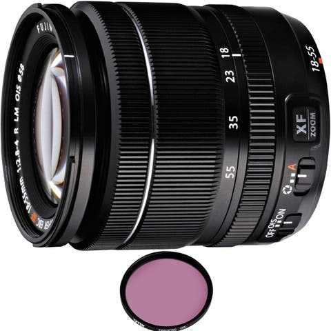 FUJIFILM XF 18-55mm f/2.8-4 R LM OIS Lens with Pro Filter