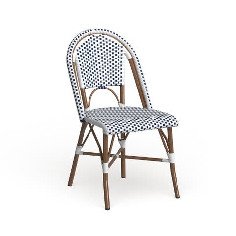 """SAFAVIEH Dining Rural Woven Stackable Dining Chairs (Set of 2) - 18""""x21.6""""x34.6"""""""