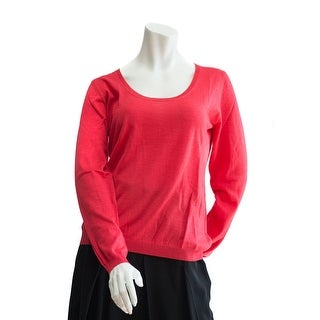 Valentino Women's Hot Pink Cashmere Sweater - M