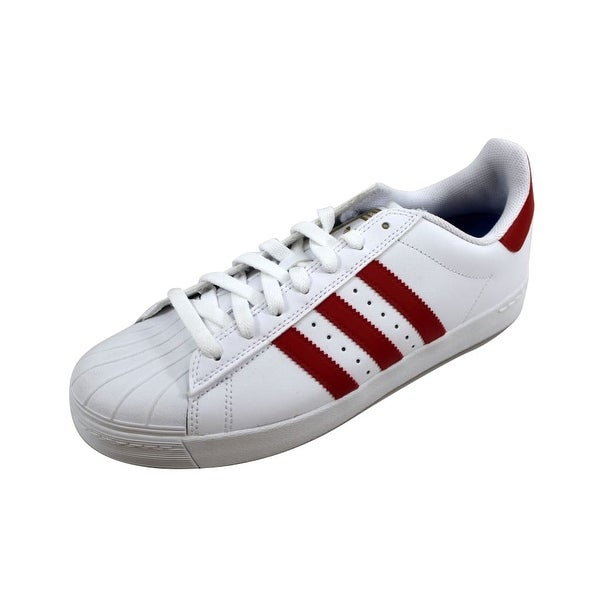 0c21d1217 ... Men s Athletic Shoes. Adidas Men  x27 s Superstar Vulc ADV  White Scarlet Red-Gold Metallic. Click to Zoom