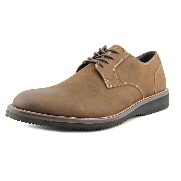 Dockers Traymore Men Round Toe Leather Brown Oxford