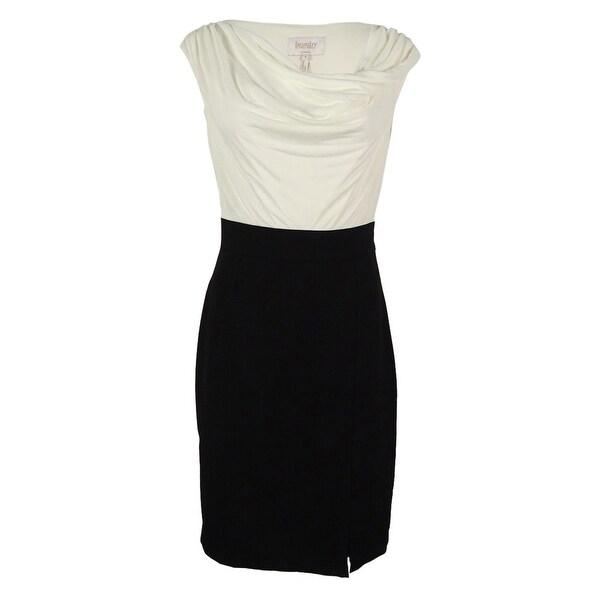 Cowl Neck Sheath Dresses: Shop Laundry Women's Cowl Neck Sheath Dress