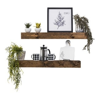 Link to Artisan Haute Floating Shelves, Set of 2 Similar Items in Accent Pieces