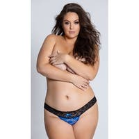 Yandy Plus Size All Over Lace Thong, Plus Size Lace Thong
