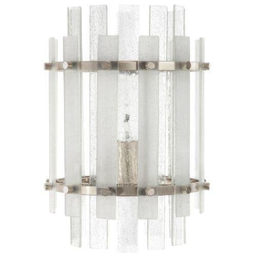 "Park Harbor PHWL3192 Sea Glass 12"" Tall Single Light Wall Sconce"