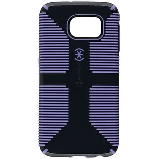 Speck CandyShell Grip Case for Samsung Galaxy S6 - Charcoal Grey/Wisteria Purple