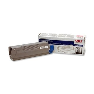OKI 43324404 Oki Black Toner Cartridge - Black - LED - 5000 Page - 1 Each