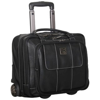 Link to Kenneth Cole Reaction Pebbled Faux Leather Dual Compartment 2-Wheeled 16-inch Laptop Carry-on Business Overnighter Similar Items in Laptop & Tablet Cases