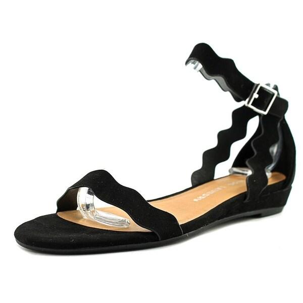 Chinese Laundry Z-Sunshine Women Open Toe Synthetic Black Gladiator Sandal