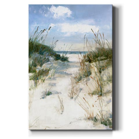Dune View-Premium Gallery Wrapped Canvas - Ready to Hang