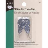 3/Pkg - Metal Needle Threaders