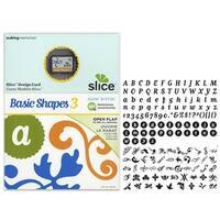Basic Shapes 3 Ms+ Slice Elite Design Card Making Memories