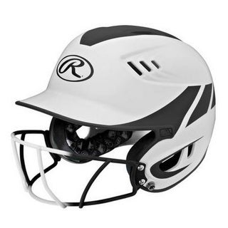 Rawlings Womens Velo Fastpitch Softball Senior Batting Helmet w/ Mask R16H2FGS