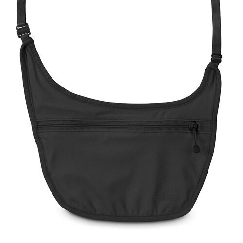 Pacsafe Coversafe S80-Black Secret Body Pouch w/ Adjustable Elastic Straps