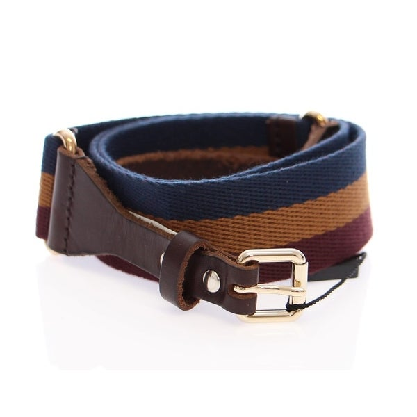 Dolce & Gabbana Dolce & Gabbana Multicolor Leather Logo Belt
