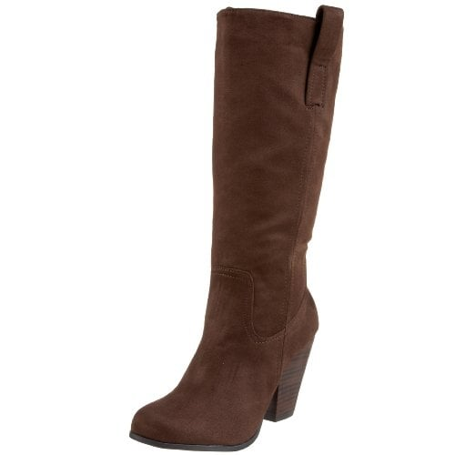 Unlisted Womens Dashboard Fabric Closed Toe Mid-Calf Fashion Boots - 7