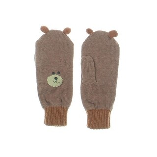 Kidorable Bear Face Design Mittens - L