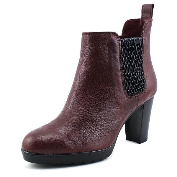Bella Vita Zana Women W Round Toe Leather Ankle Boot