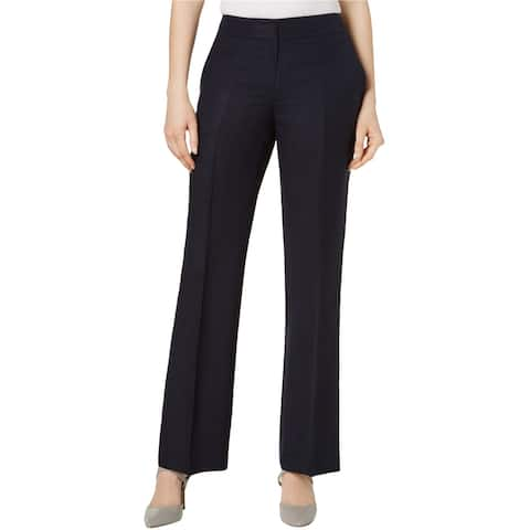 Nine West Womens Neo Classic Dress Pants, blue, 6
